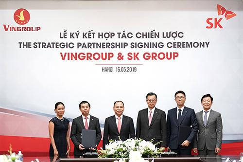 Tập đoàn SK sẽ đầu tư 1 tỷ USD mua cổ phiếu Vingroup