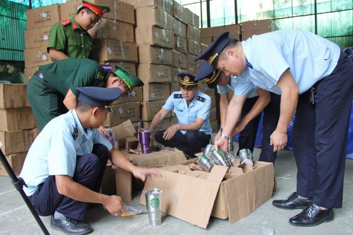 Hải quan bắt tại Lạng Sơn 280 kiện hàng giả xuất xứ Thái Lan
