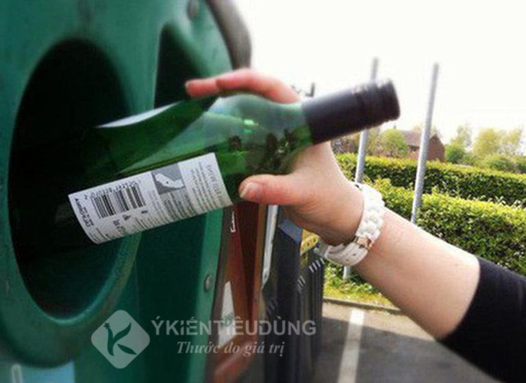 Tái chế rác thải thủy tinh