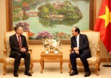 Bộ trưởng văn phòng chính phủ tiếp Chủ tịch Google châu Á