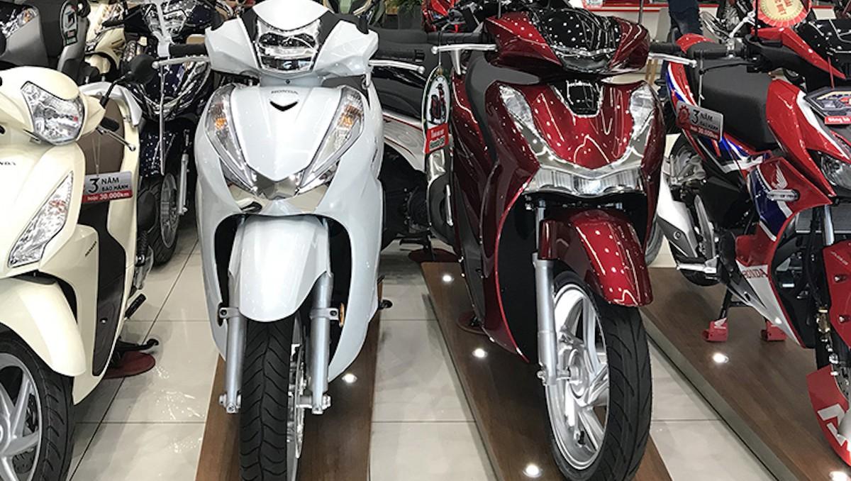 Doanh số bán xe máy giảm 1.700 chiếc mỗi ngày